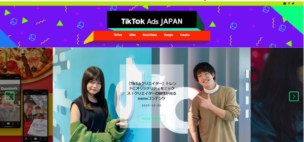 運用型アプリ広告の事例4 TikTok広告