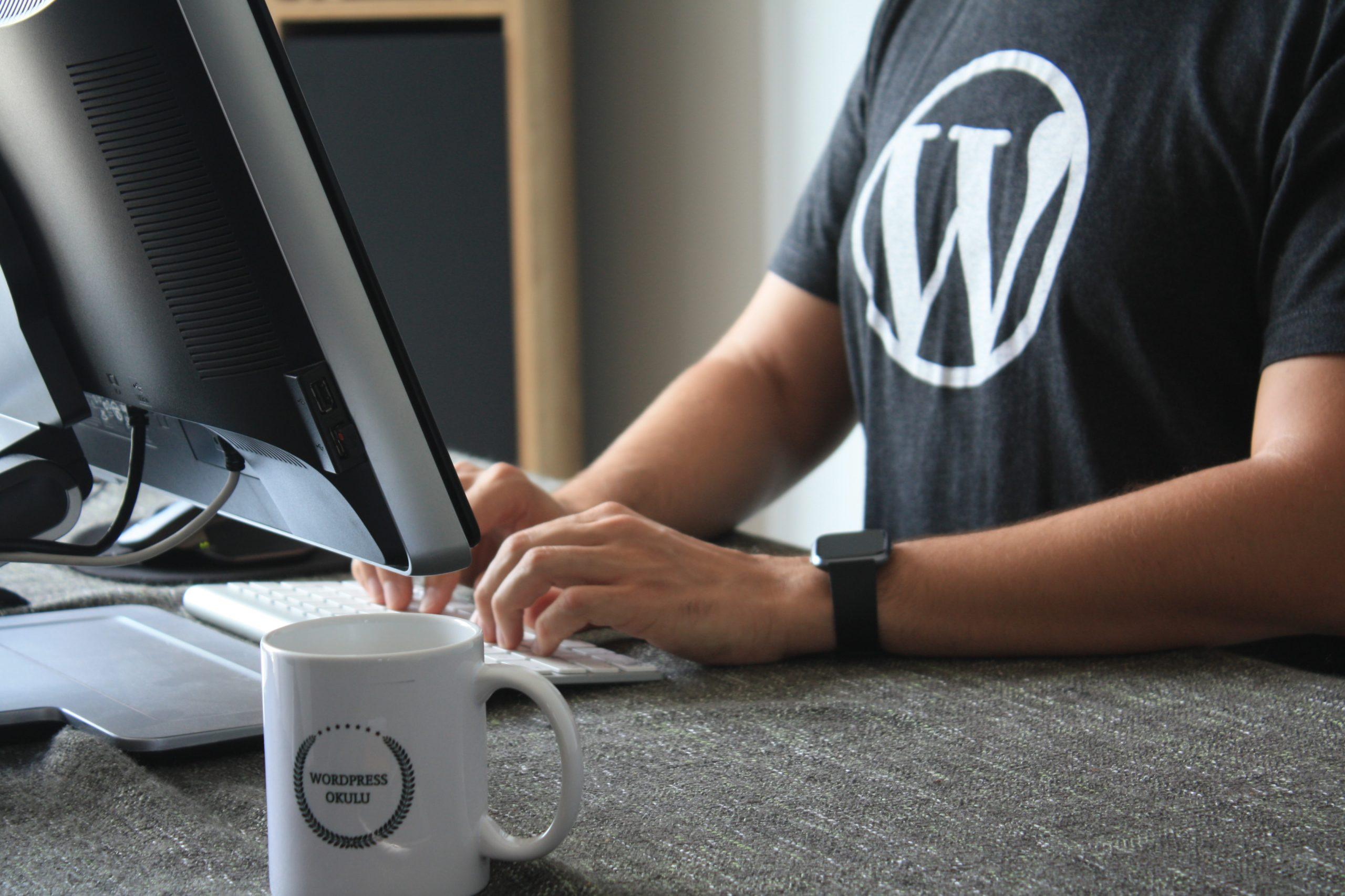 WordPressを使ったホームページ作成は4工程に分かれる