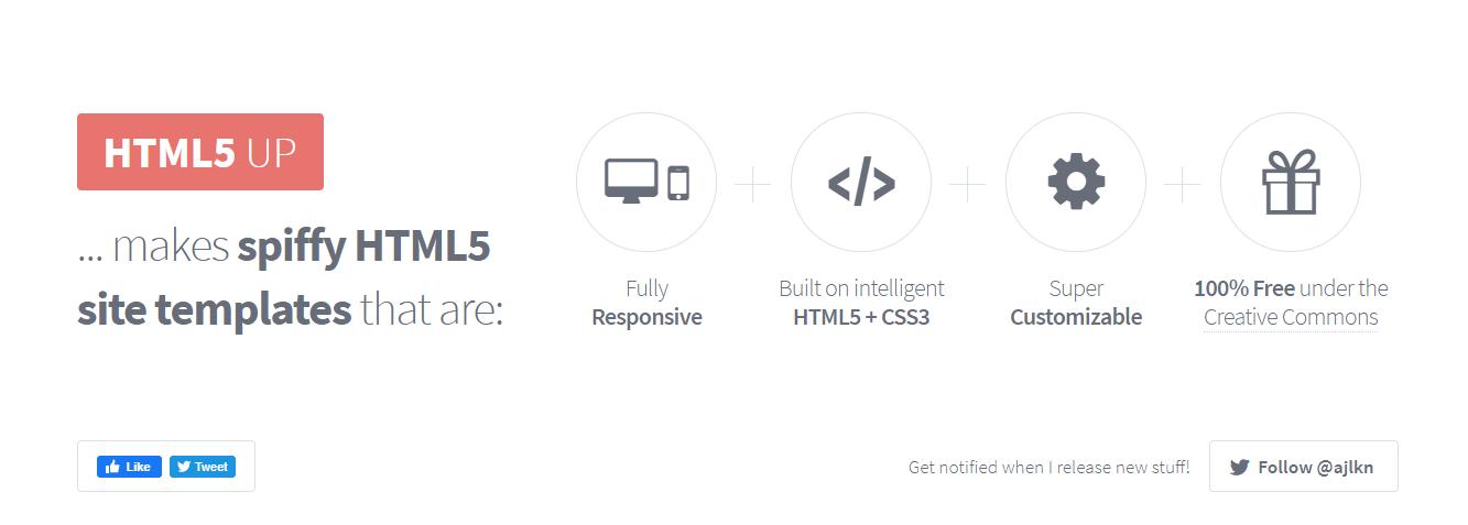 【ホームページテンプレートサイト➄】HTML5UP