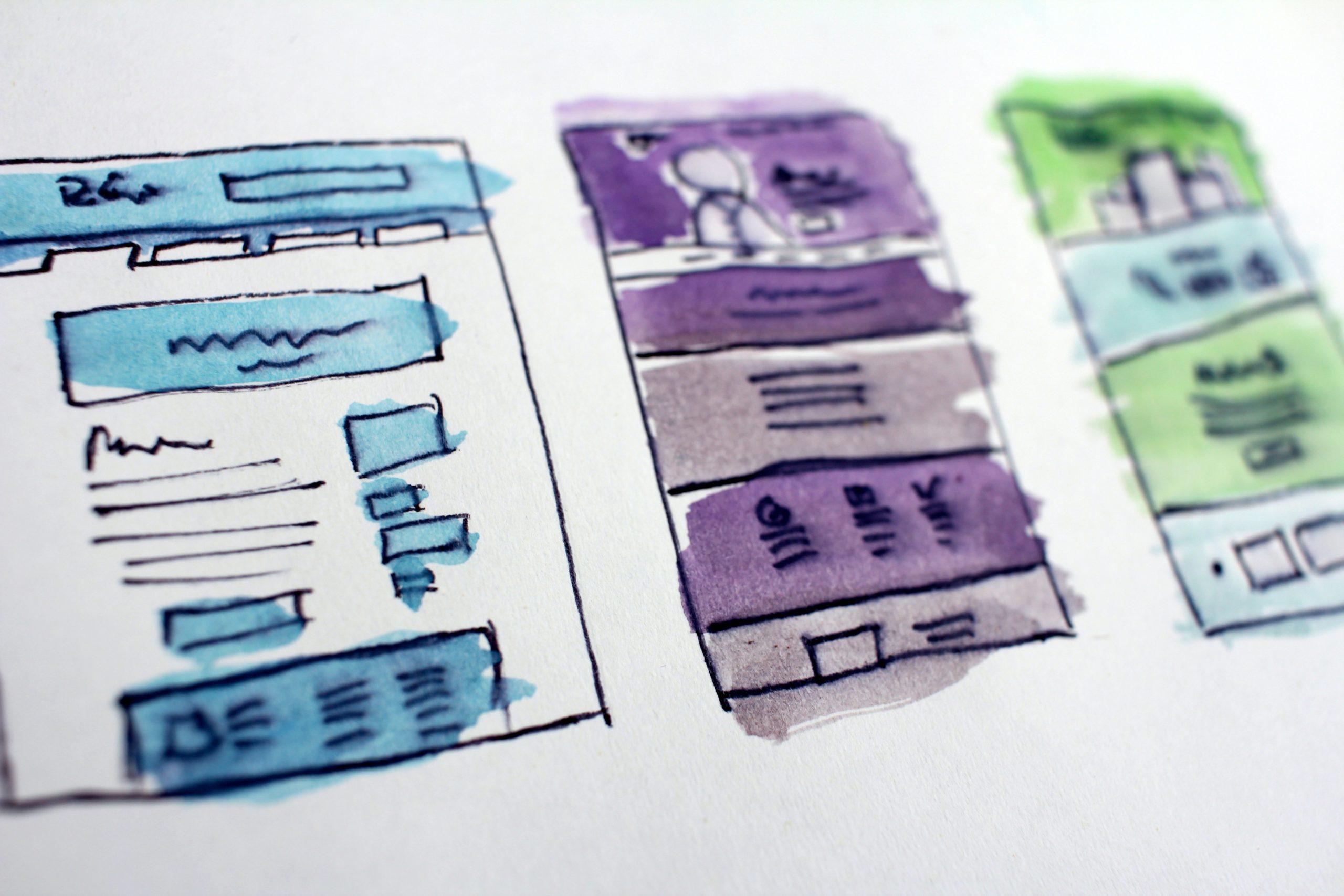 webサイトレイアウトの種類