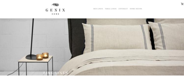 【Jimdo (ジンドゥー)で作ったホームページ④】GENIX